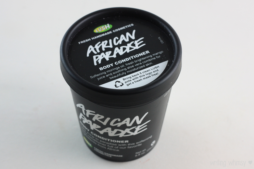 Lush African Paradise Body Conditioner  2