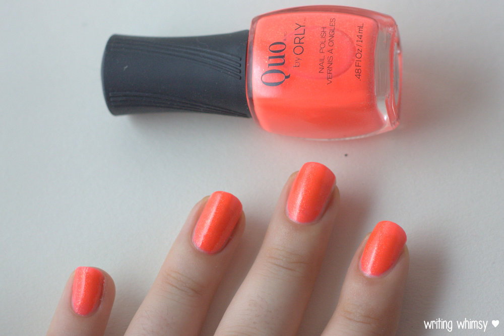 Quo by ORLY Summer 2014 Collection Heatwave 2