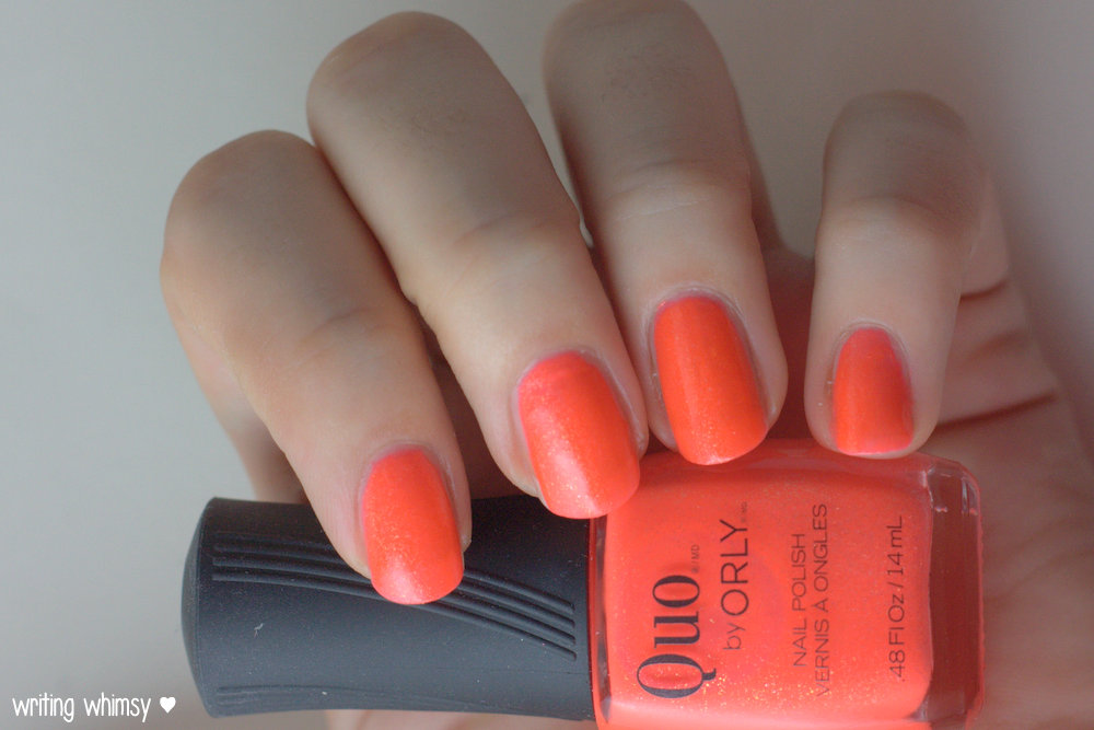 Quo by ORLY Summer 2014 Collection Heatwave 3