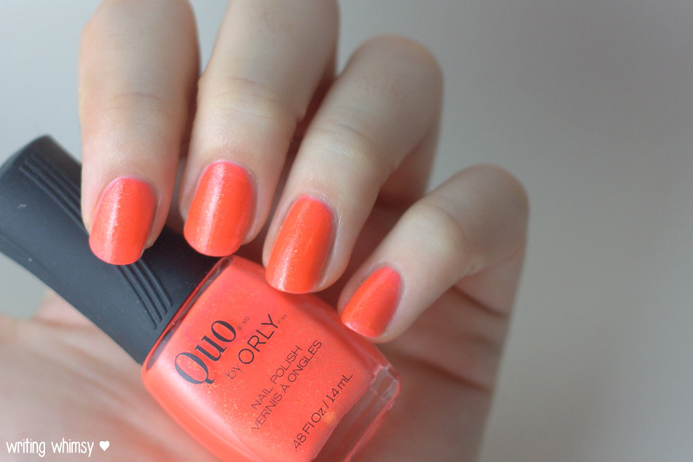 Quo by ORLY Summer 2014 Collection Heatwave