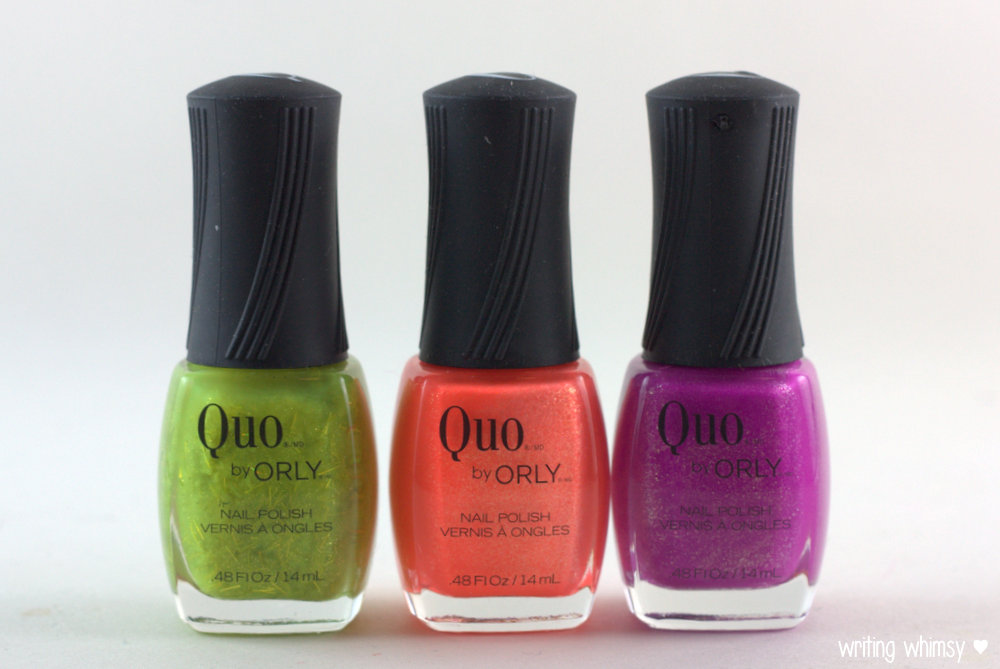 Quo by ORLY Summer 2014 Collection Overboard,