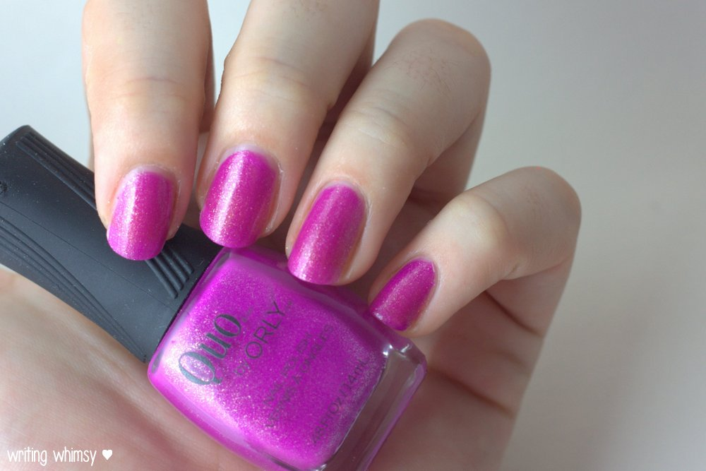 Quo by ORLY Summer 2014 Collection Simmered
