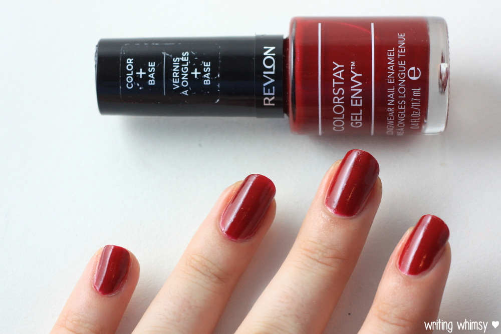 Revlon Colorstay Gel Envy in Queen of Hearts – WRITING WHIMSY