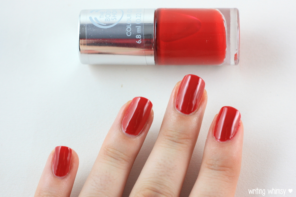 The Body Shop Color Crush Nail Polish Relish The Moment 2