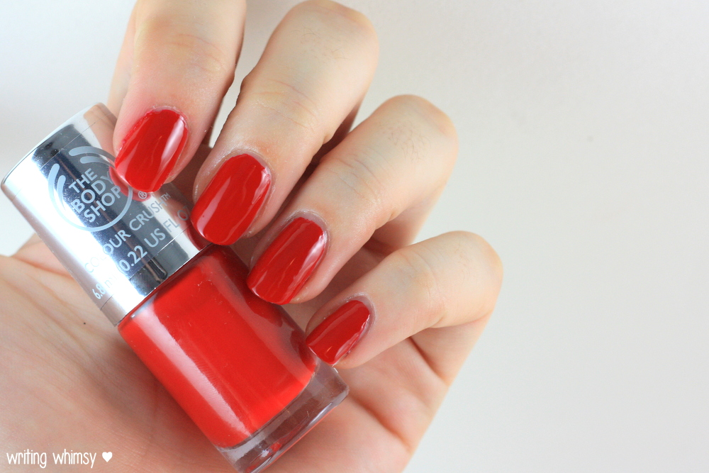 The Body Shop Color Crush Nail Polish Relish The Moment