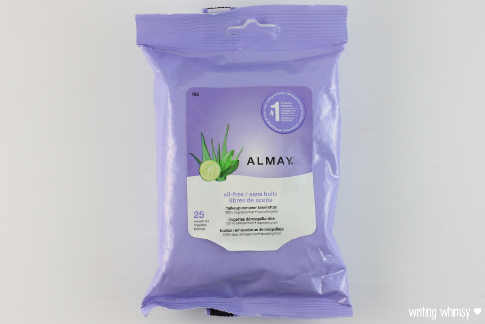 Almay Oil-Free Makeup Remover Towelettes 3
