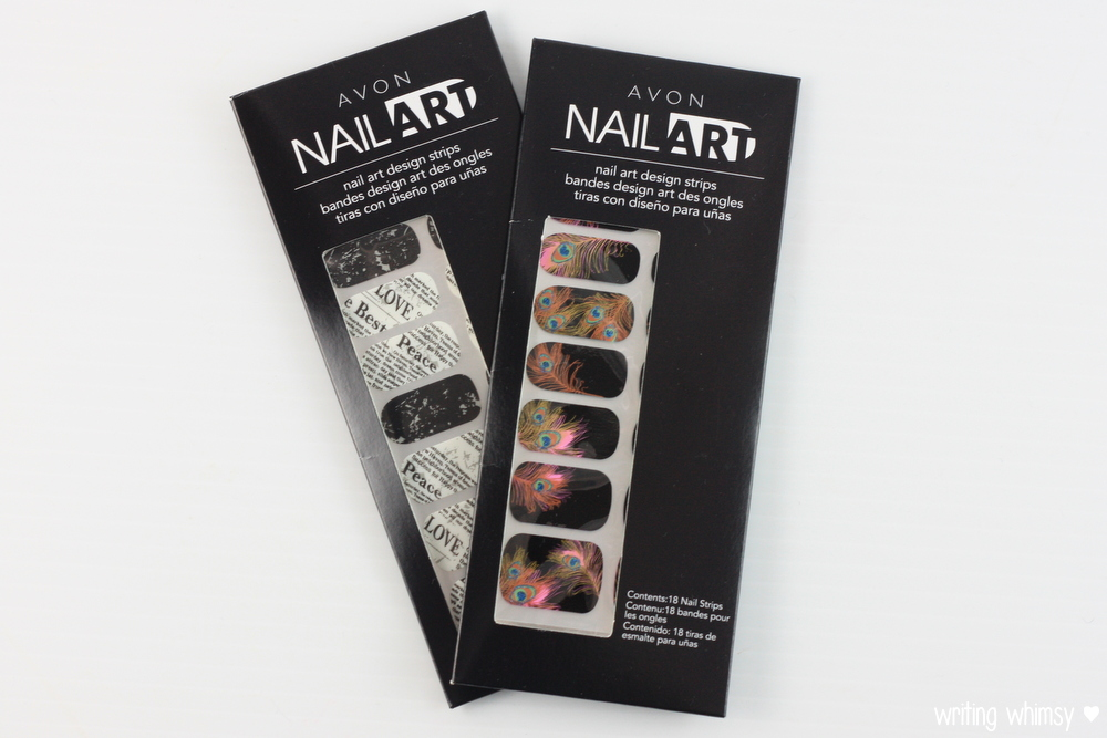 Avon Nail Art Design Strips in Newsy Newsy and Birds of a Feather