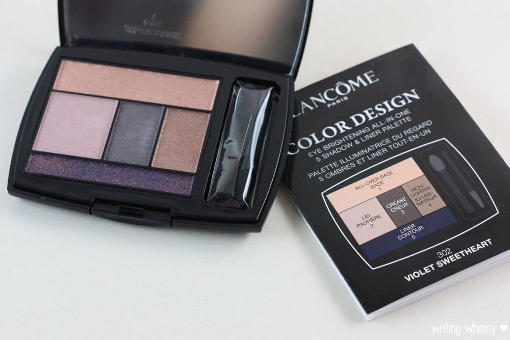 Lancome Color Design Violet Sweetheart Palette 2