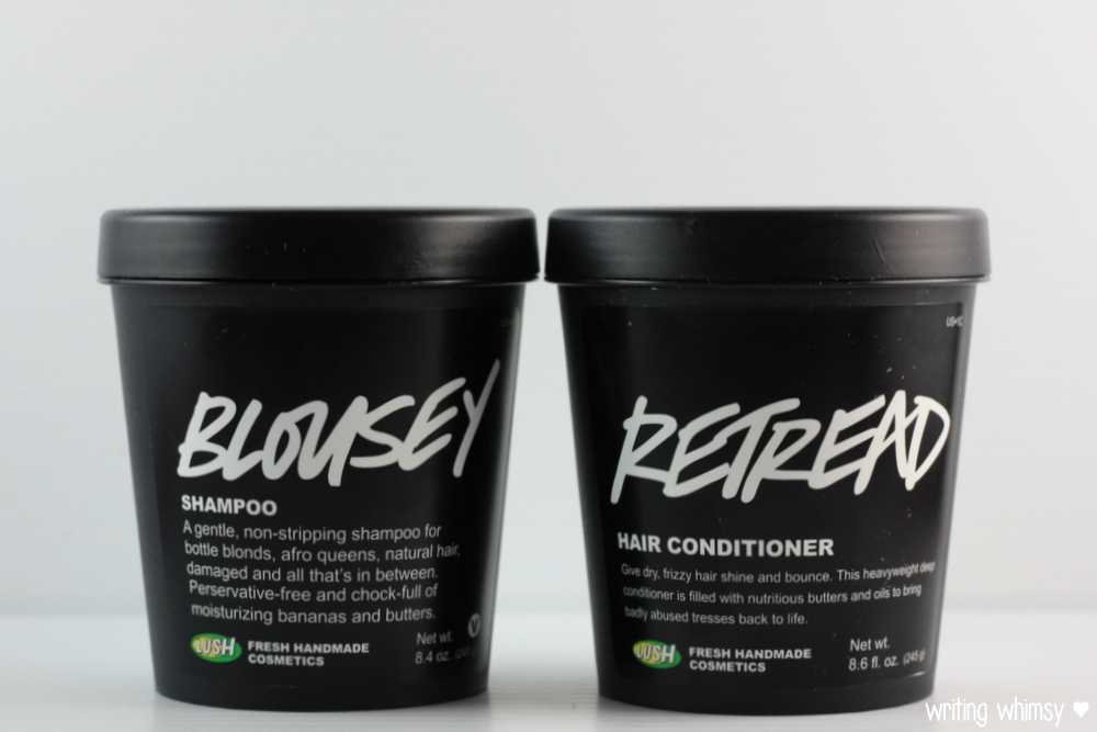 Lush Blousey Shampoo and Lush Retread Conditioner 5