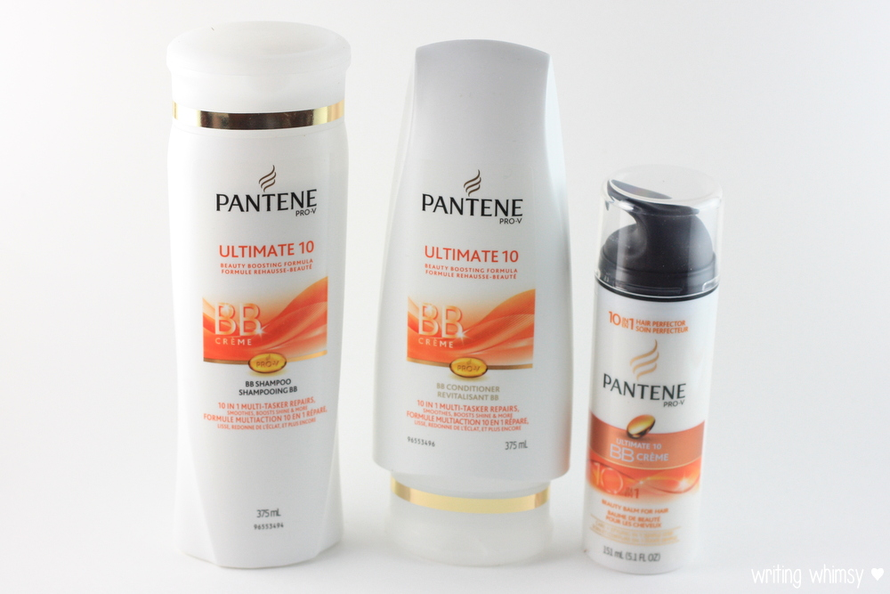 Pantene Pro-V Ultimate 10 Shampoo, Conditioner and BB Cream 5