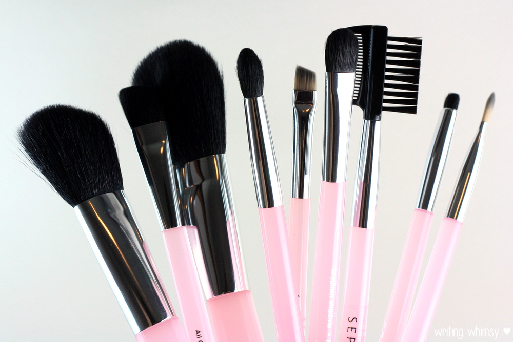 Sephora Collection Perfect Pink Brush Set 2