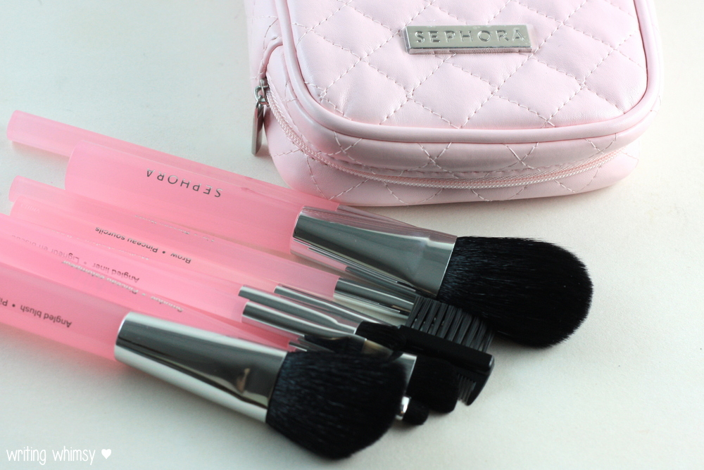 Sephora Collection Perfect Pink Brush Set 4