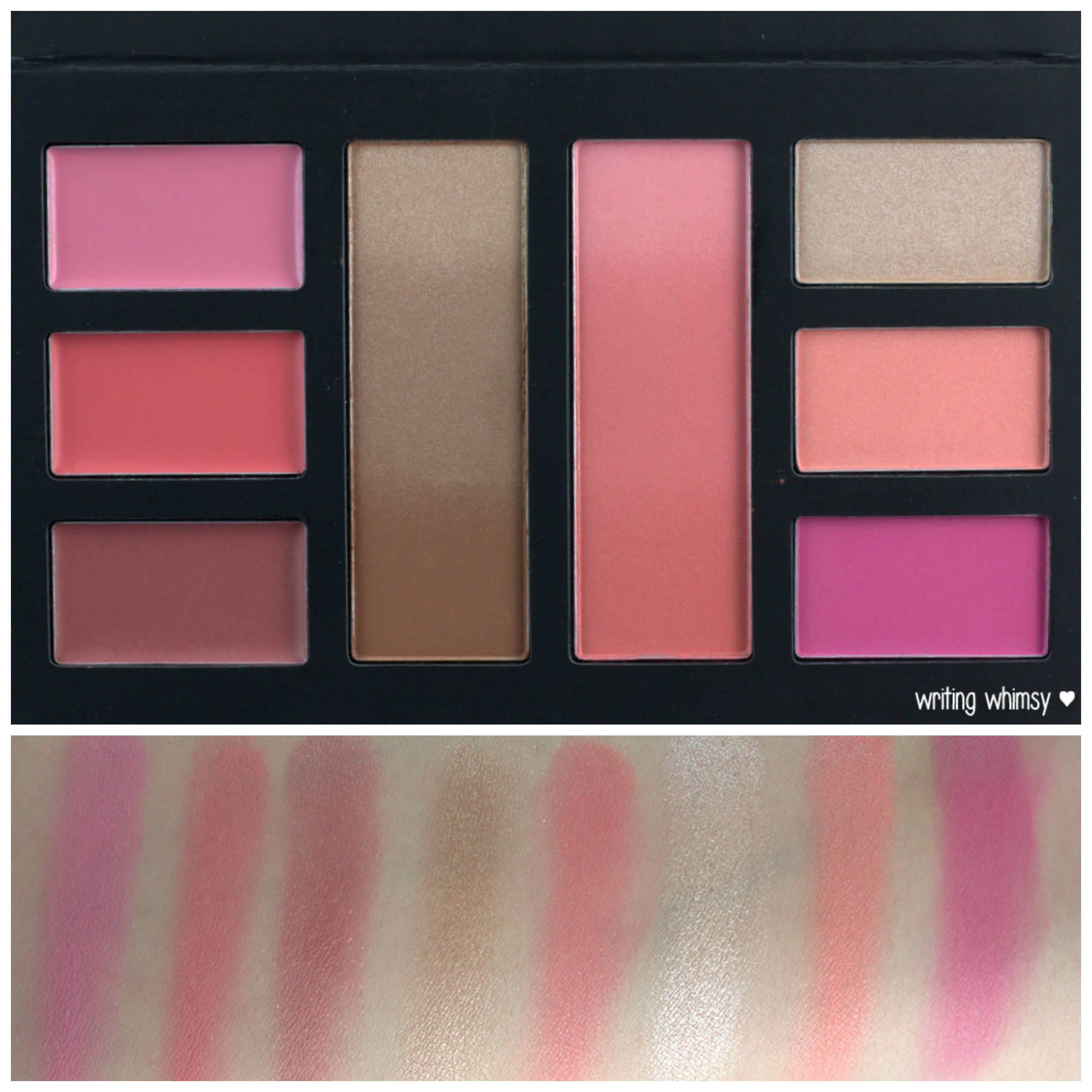 Sephora The Beauty of Giving Back Face Palette Collage