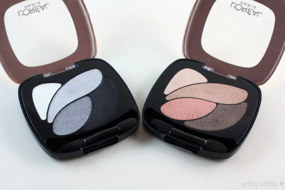 L'Oreal Color Riche Eyeshadow Palette Incredible Grey  Rose Nude 2