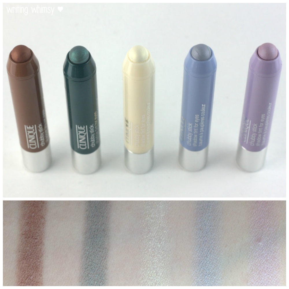 1-Clinique Chubby Stick Shadow Tint For Eyes Collage