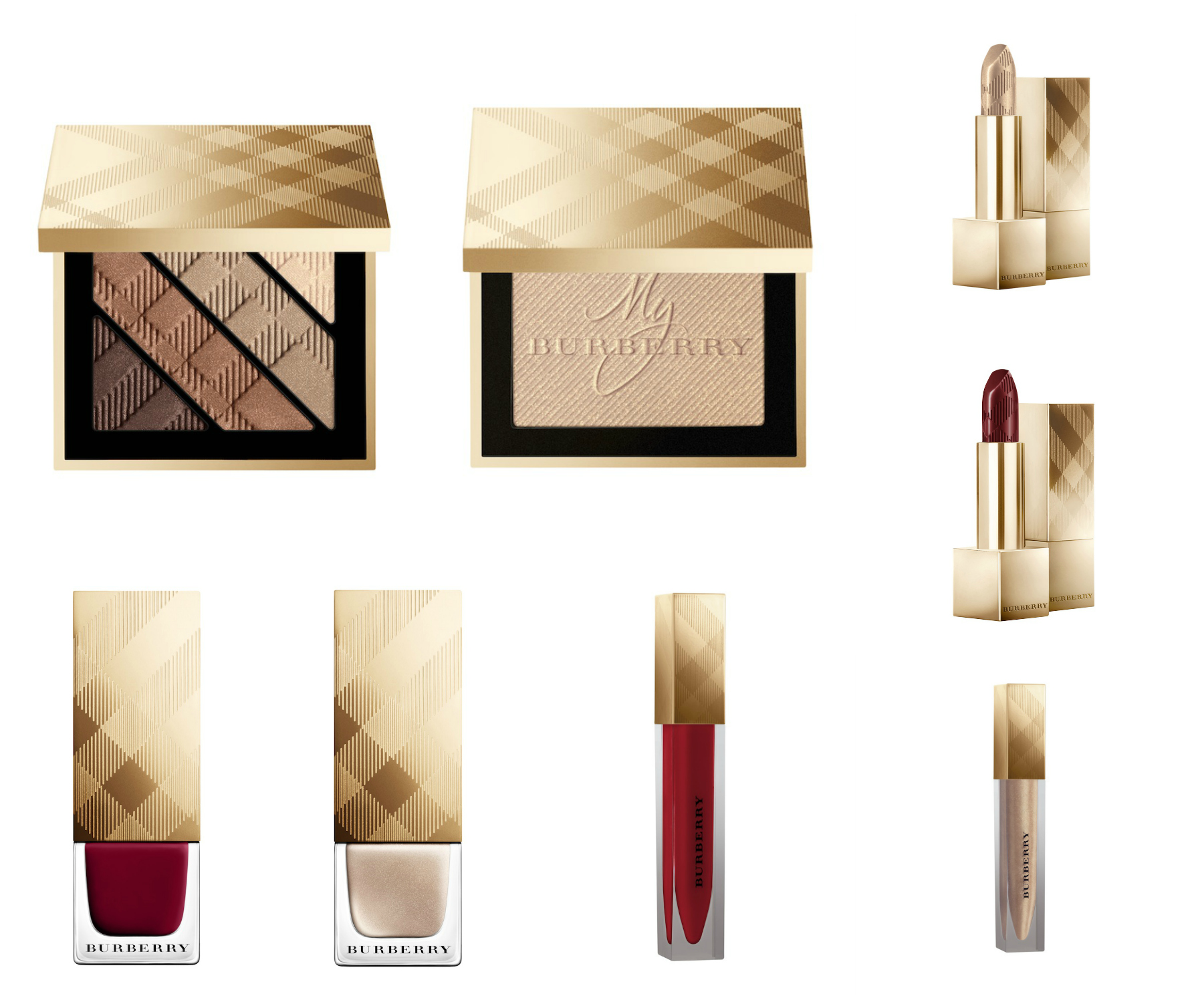 Burberry Winter Glow Collection 2 Collage