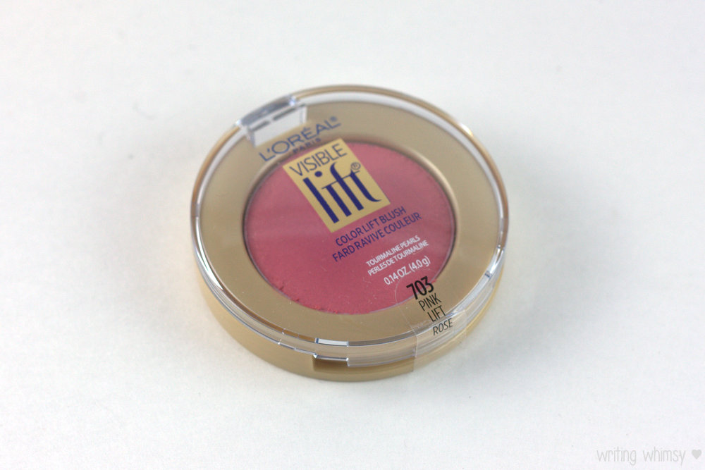 L'Oreal Visible Lift Color Lift Blush in Pink Lift 3
