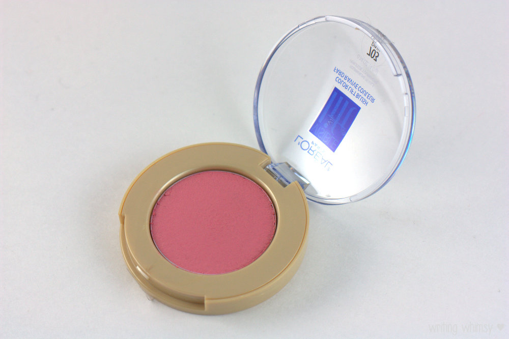 L'Oreal Visible Lift Color Lift Blush in Pink Lift