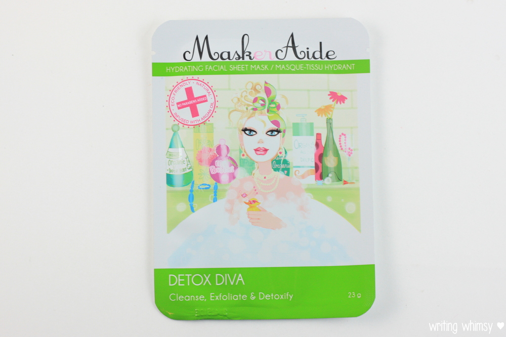 MaskerAide Beauty Restore, Detox Diva and Pre Party Prep
