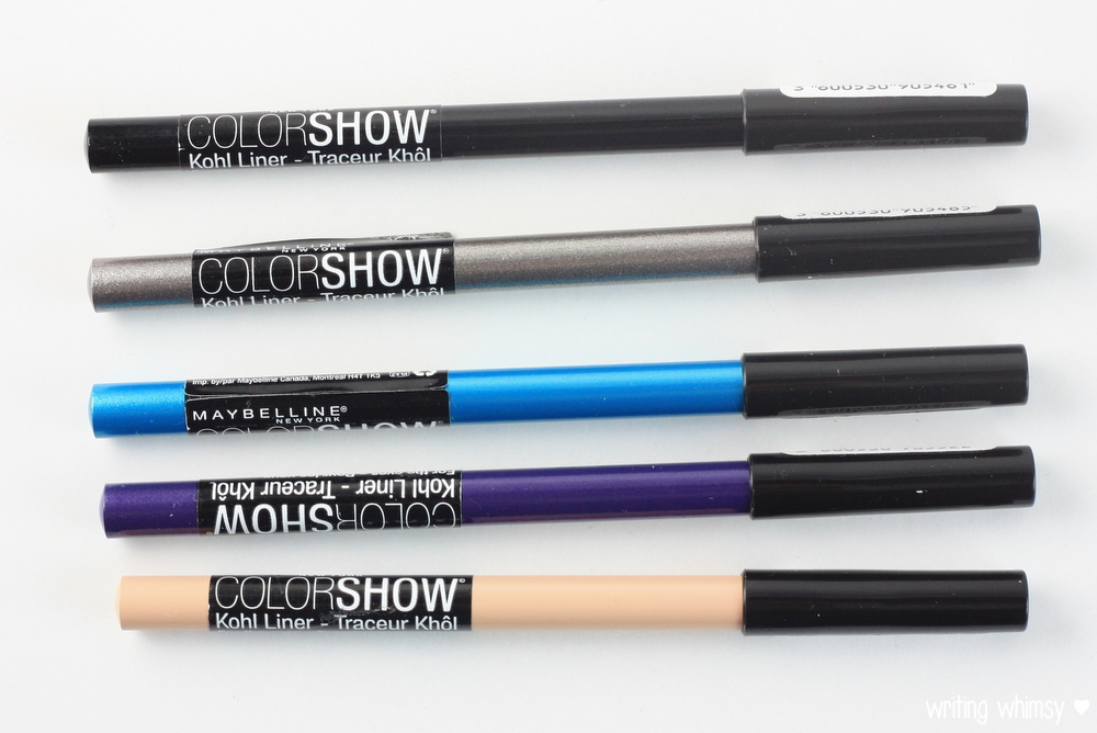 Maybelline Color Show Crayon Kohl Liners 2