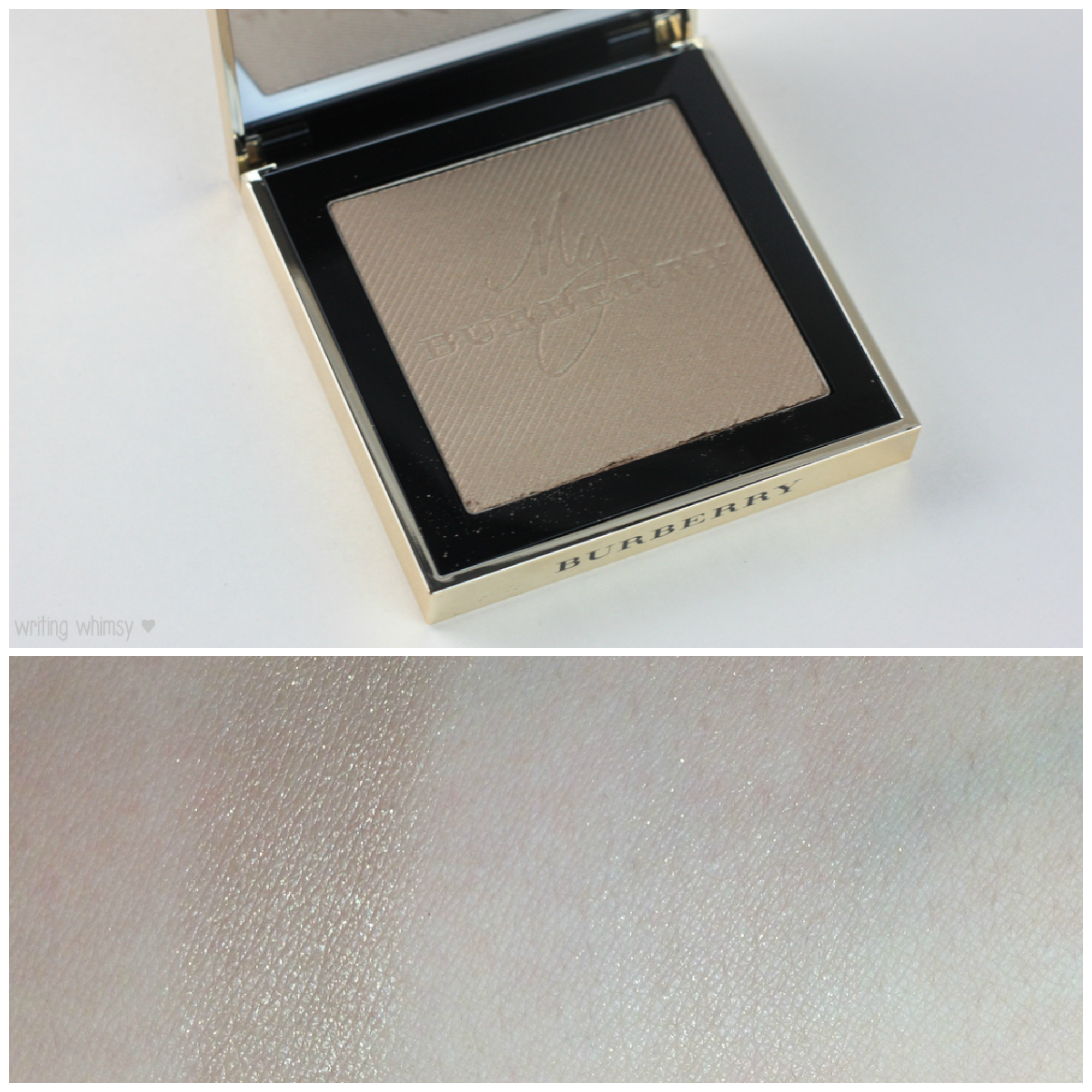 Burberry Gold Glow Fragranced Luminising Powder Collage