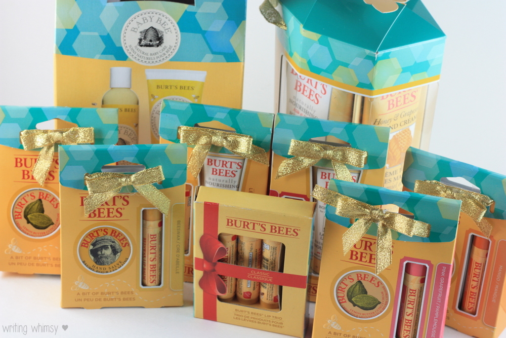 Burt's Bees Holiday Gift Guide 2