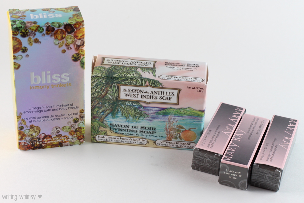 Stocking Stuffers Bliss, West Indies Soap and Mary Kay 5