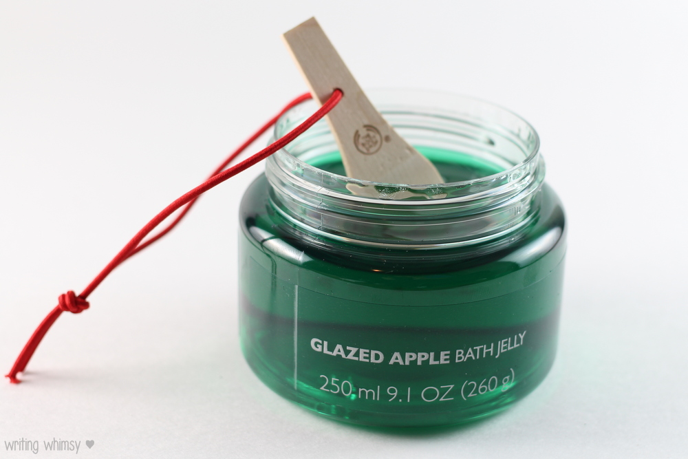 The Body Shop Glazed Apple Bath Jelly and Body Butter 2