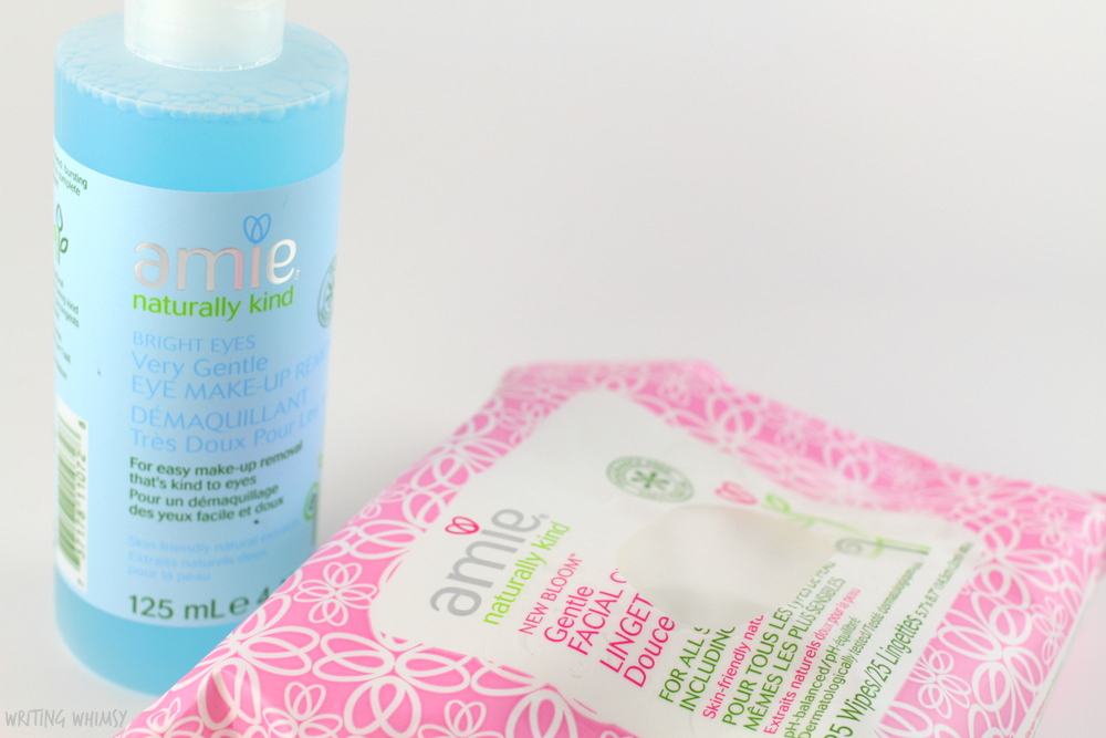 Amie Bright Eyes Very Gentle Eye Makeup Remover and New Bloom Gentle Facial Cleansing Wipes Review 2