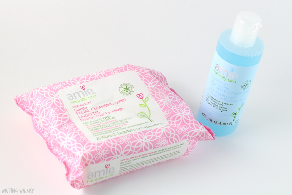 Amie Bright Eyes Very Gentle Eye Makeup Remover and New Bloom Gentle Facial Cleansing Wipes Review 3