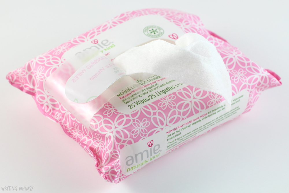 Amie Bright Eyes Very Gentle Eye Makeup Remover and New Bloom Gentle Facial Cleansing Wipes Review