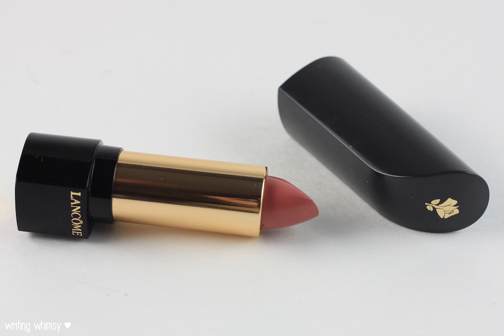 Lancome L'Absolu Rouge Lipstick in Rose Amnesia and Rose Comtesse 2