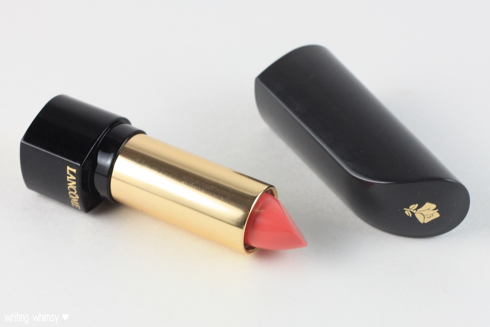 Lancome L'Absolu Rouge Lipstick in Rose Amnesia and Rose Comtesse 3