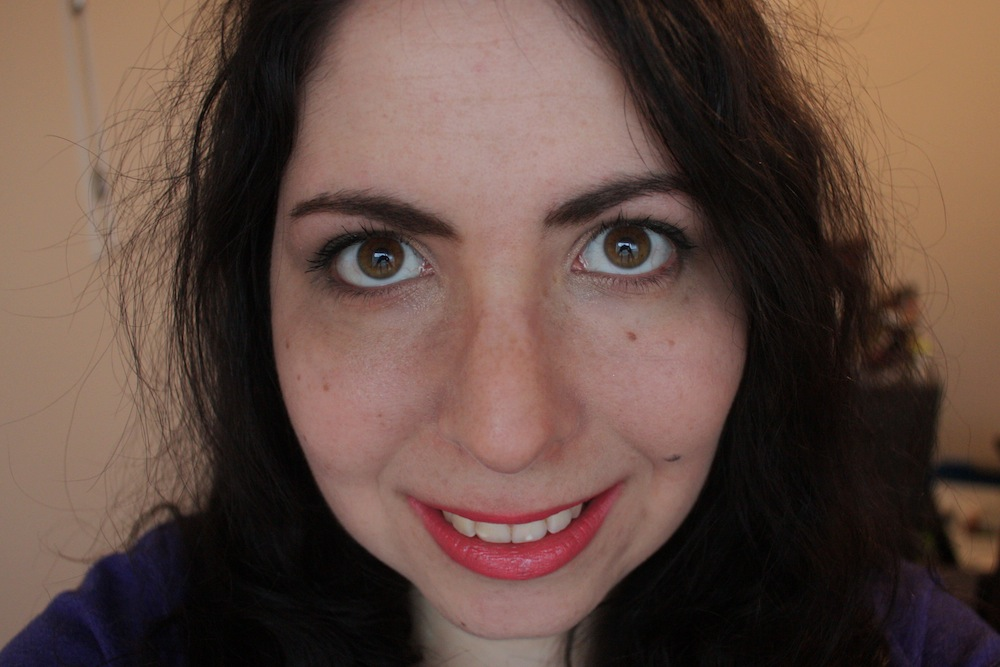 Lancome L'Absolu Rouge Lipstick in Rose Amnesia and Rose Comtesse 6