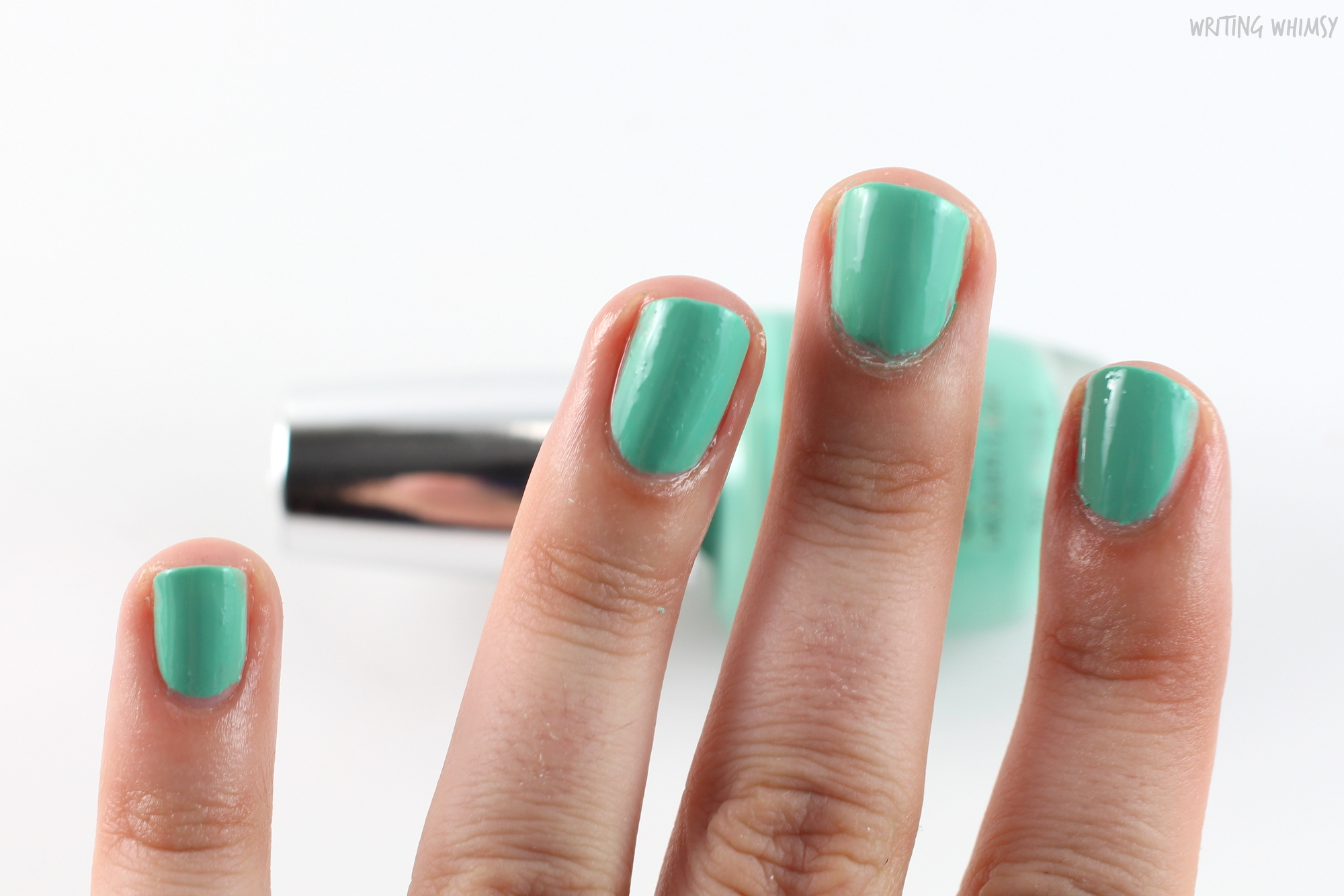 OPI Infinite Shine Withstands the Test of Thyme 2