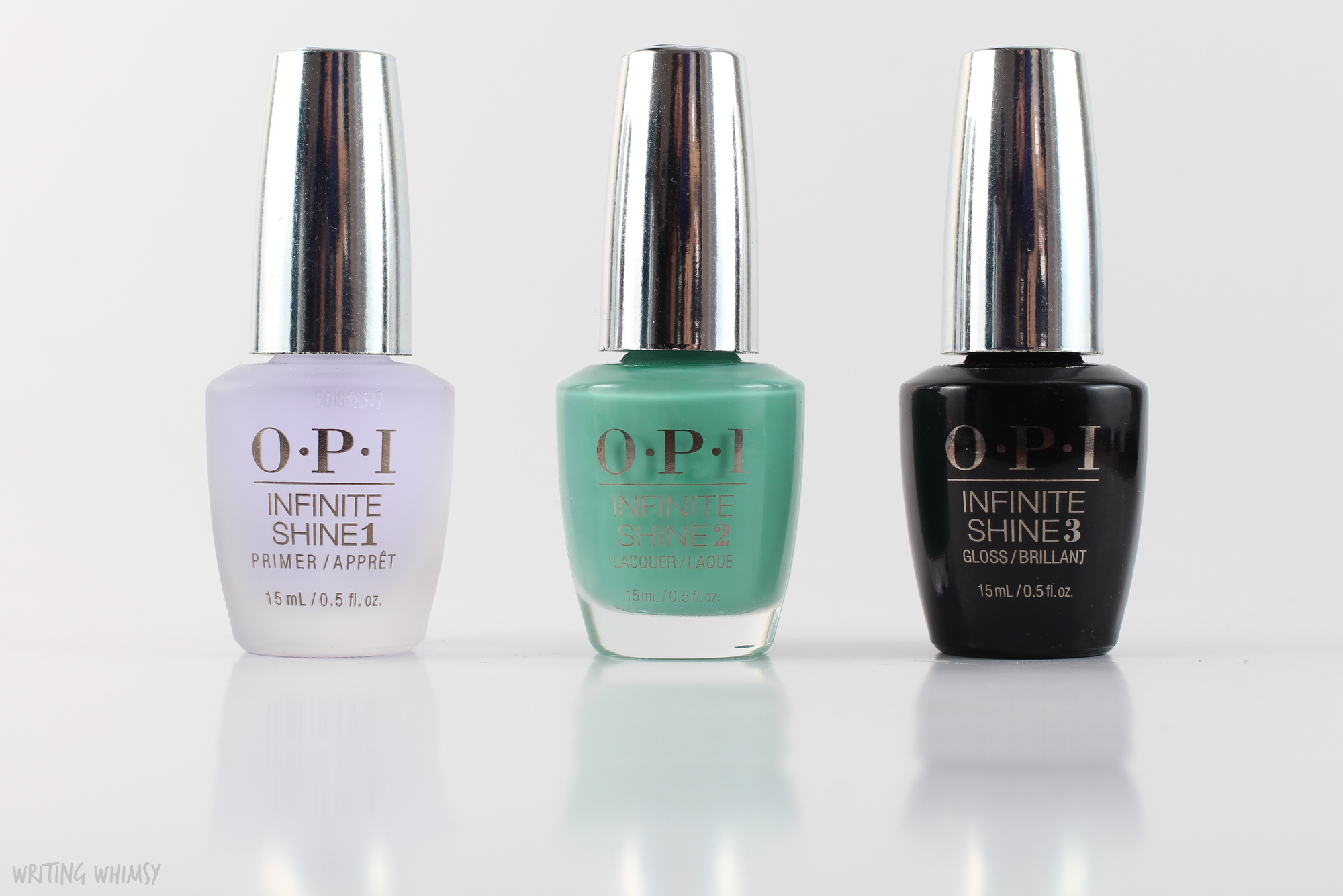OPI Infinite Shine Withstands the Test of Thyme 3