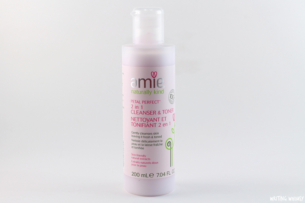 Amie Petal Perfect 2 in 1 cleanser toner
