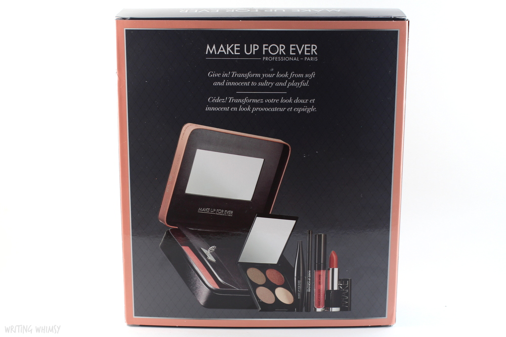 MAKE UP FOR EVER Give In To Me Makeup Kit 7