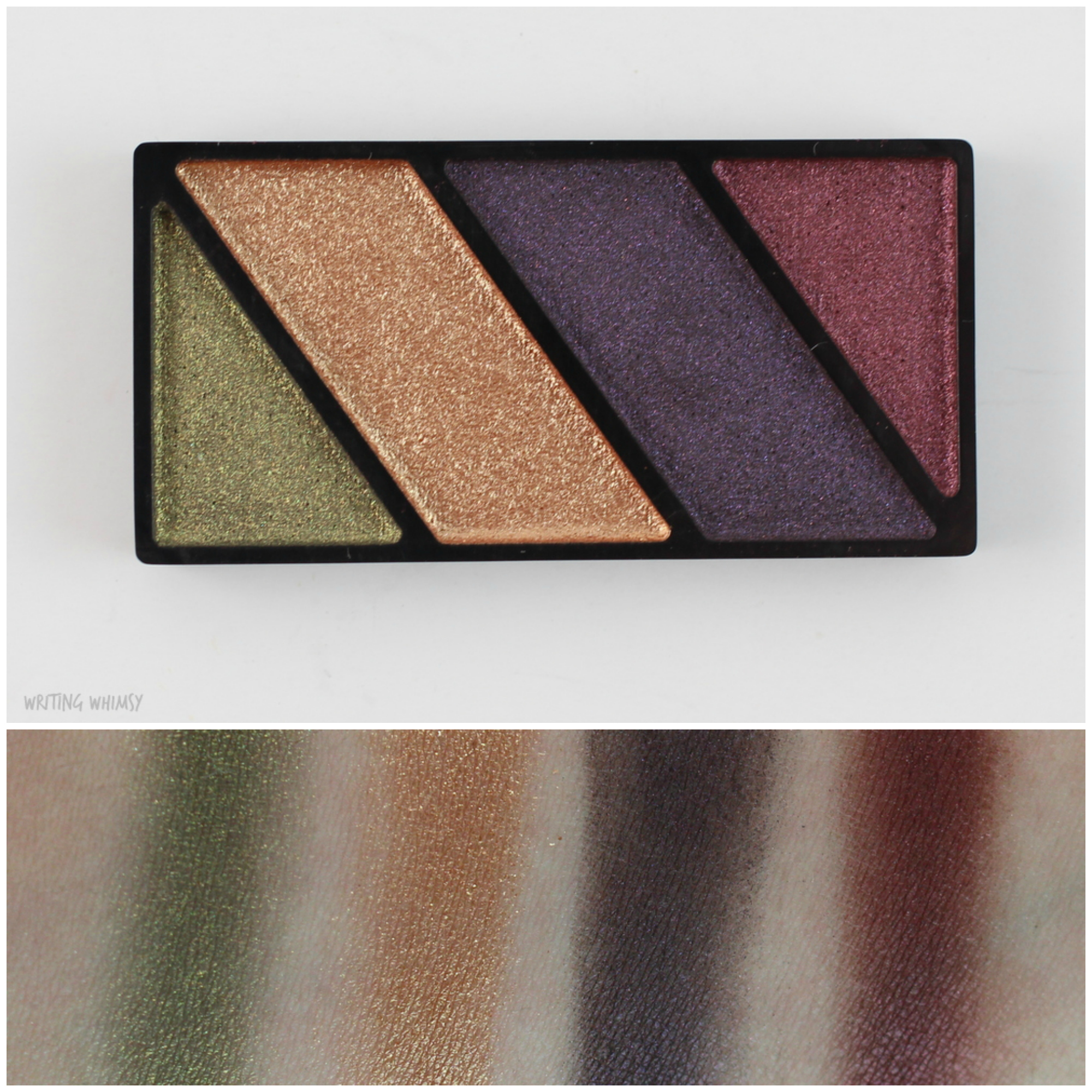 Mary Kay Mineral Eye Color Quads in Autumn Leaves and Sandstone 2 Collage