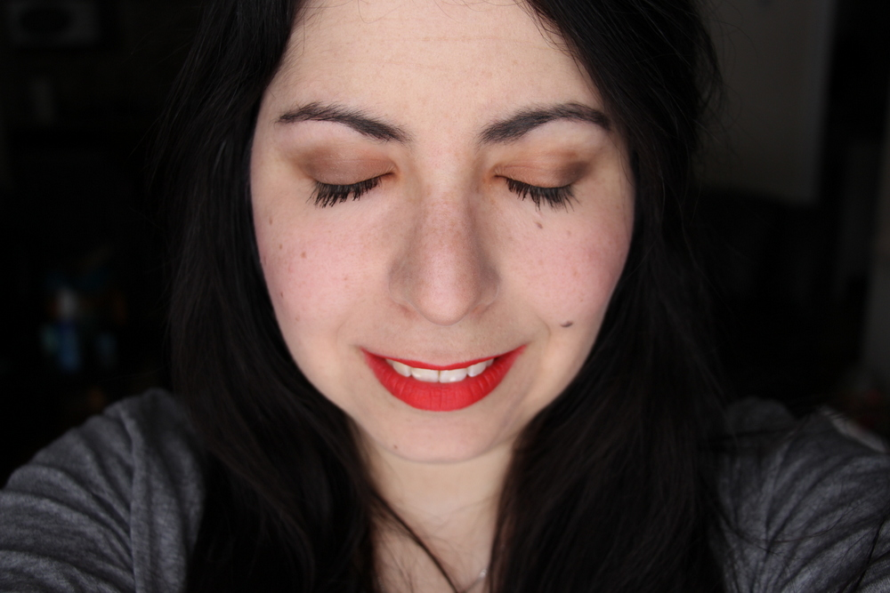 Maybelline Color Sensational Creamy Mattes in Craving Coral
