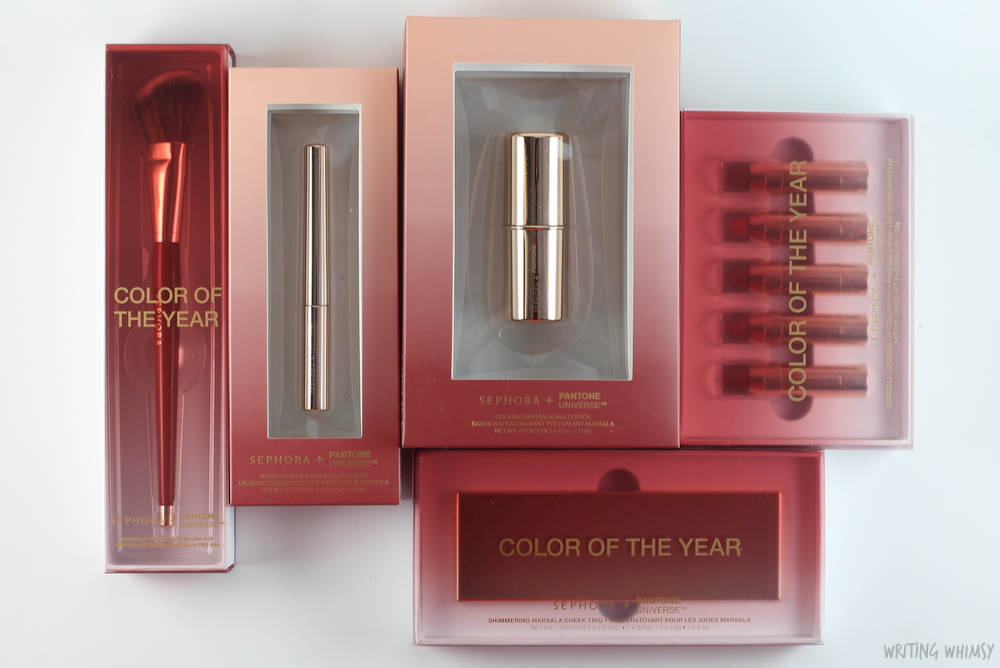Sephora Pantone Color of the Year 2015 Marsala Collection 13