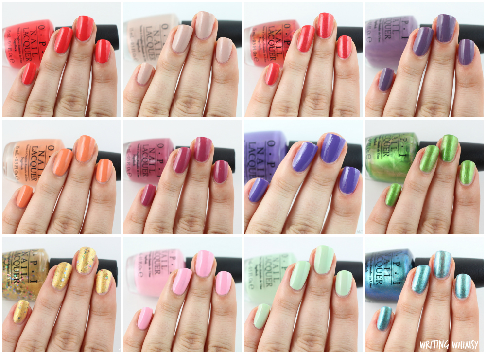 1-OPI Hawaii Collection 2 Collage