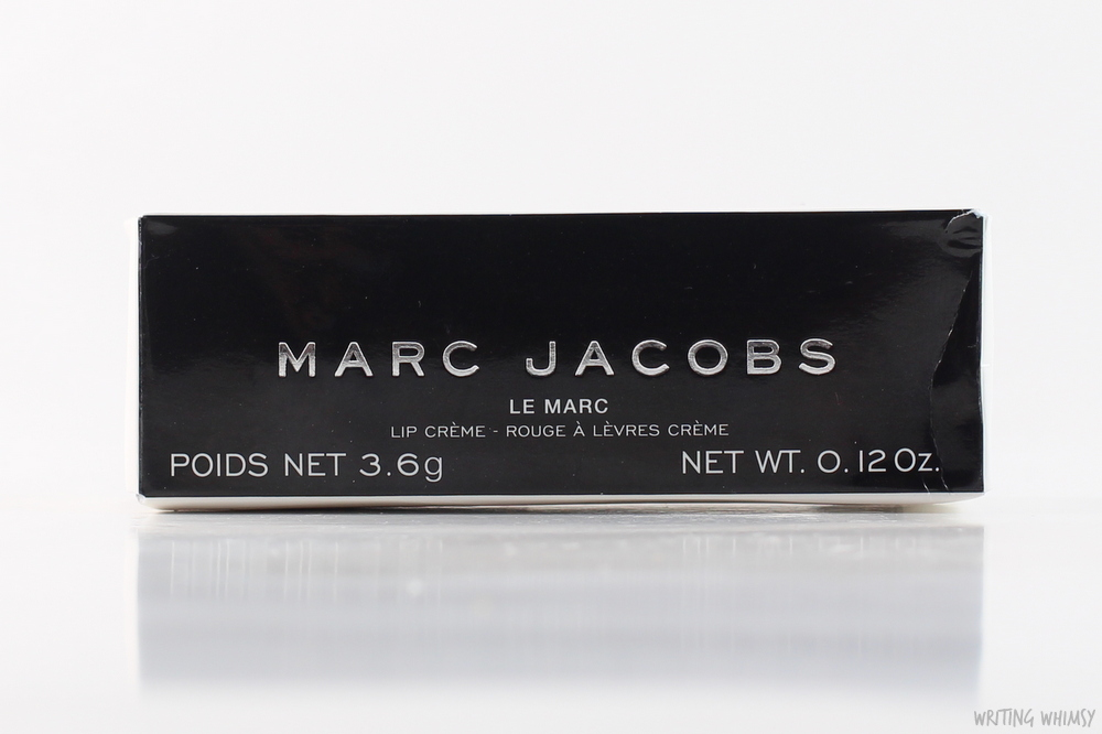 Marc Jacobs Le Marc Lip Creme in Miss Scarlet 2