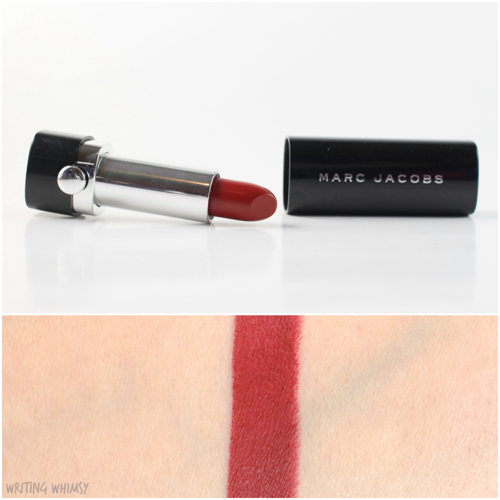 Marc Jacobs Le Marc Lip Creme in Miss Scarlet 5