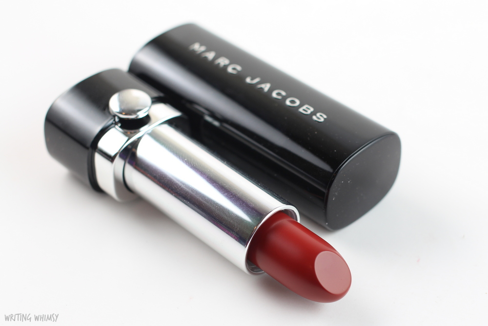 Marc Jacobs Le Marc Lip Creme in Miss Scarlet