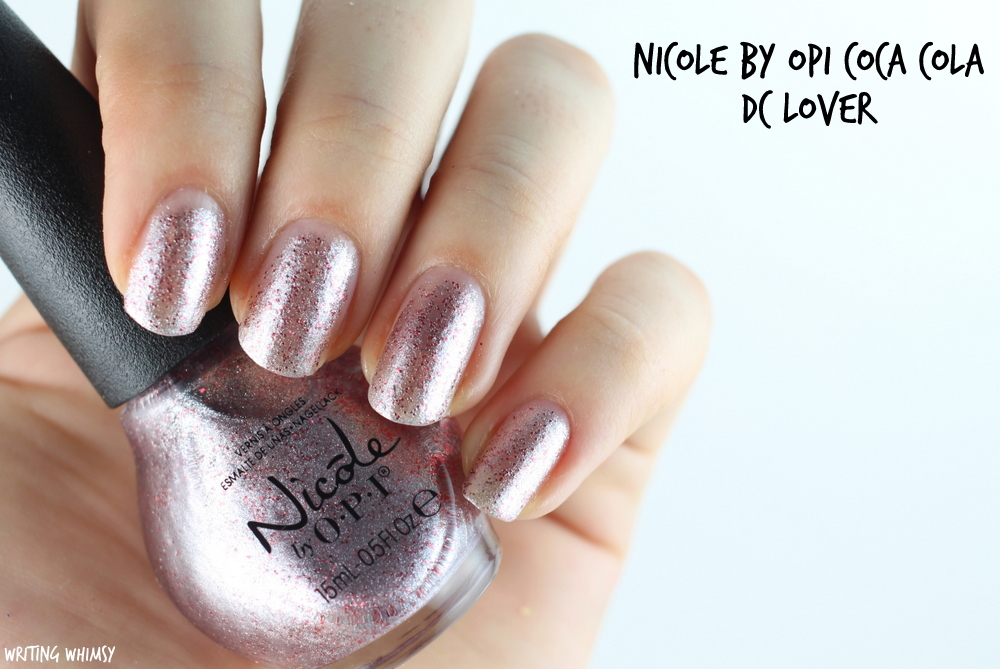 Nicole by OPI Coca Cola DC Lover 2