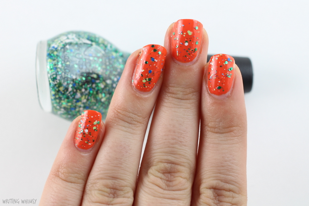 Nicole by OPI Coca Cola Seriously Citrus 2