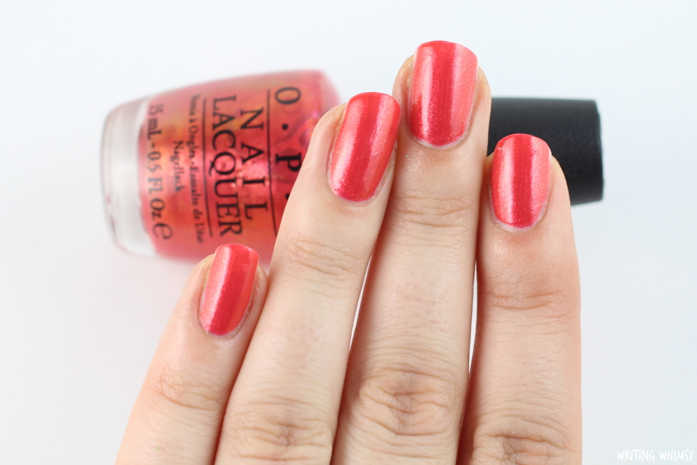 OPI Hawaii Go With the Lava Flow 2
