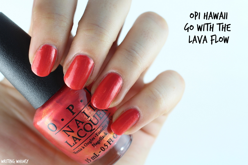 OPI Hawaii Go With the Lava Flow