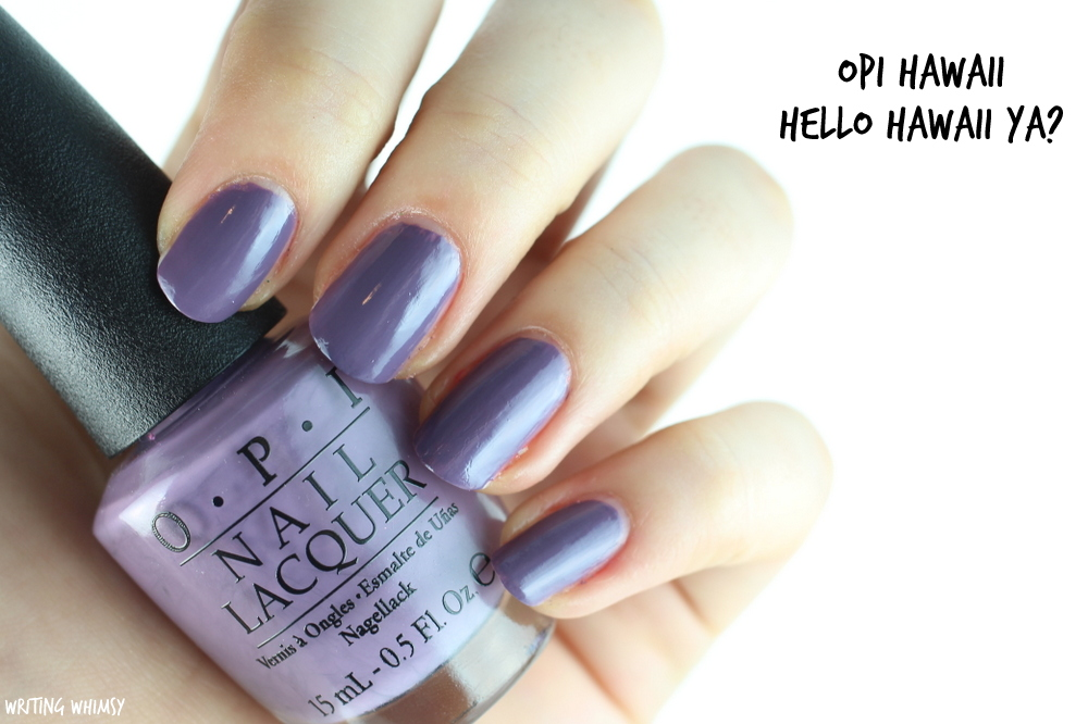 OPI Hawaii Hello Hawaii Ya